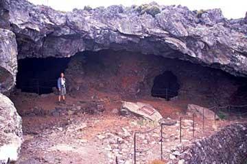 die Grotte La Glacière, Réunion