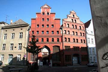 Scheelehaus in Stralsund, Mecklenburg-Vorpommern