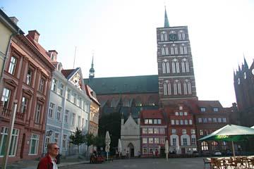 """Nikolaikirche am """"Alten Markt"""", Stralsund, Mecklenburg-Vorpommern"""