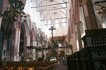 in der Nikolaikirche in Stalsund, Mecklenburg-Vorpommern