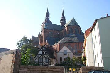 """Marienkirche am """"Neuen Markt"""", Stralsund, Mecklenburg-Vorpommern"""