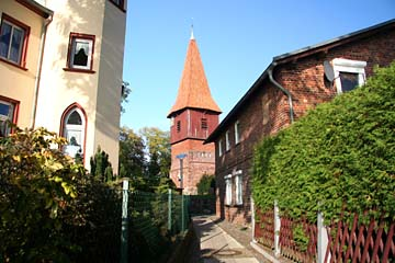 Altefähr mit Dorfkiche, Insel Rügen