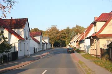 Ortschaft im Süden der Insel Rügen