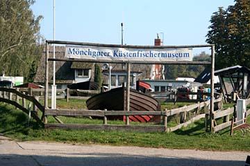 kl. Fischer-Museum in Moritzdorf, Süden von Rügen