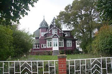 lila Villa im Seebad Binz, Insel Rügen