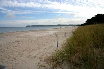 schöner Strand bei Prora, Insel Rügen