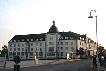 Rathaus in Sassnitz, Insel Rügen