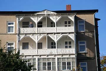 Altstadt-Villa in der Altstadt von Sassnitz, Insel Rügen