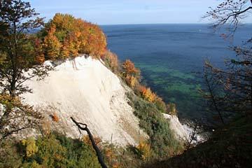 Herbst an der Kreideküste auf Rügen