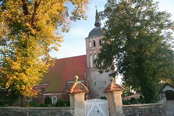 die Kirche von Trent, Halbinsel Wittow, Rügen