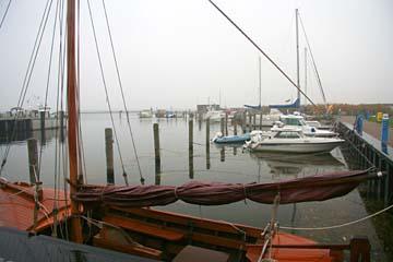 am Hafen in Kloster auf Hiddensee