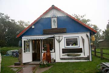 Bernsteinhaus in Kloster auf Hiddensee