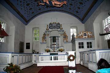 in der Inselkirche in Kloster auf Hiddensee