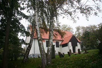 Inselkirche in Kloster auf Hiddensee
