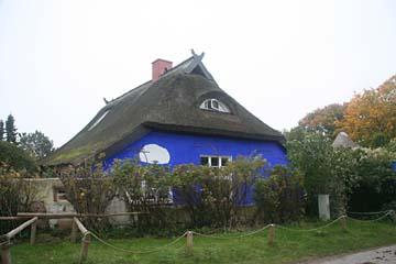 """Künstlerwohnhaus """"Blaue Scheune"""" in Vitte auf Hiddensee"""