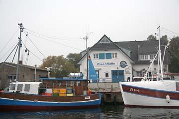 Hafen in Vitte auf Hiddensee