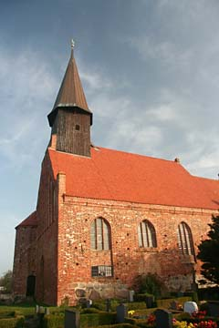Kirche in Schaprode, Rügen