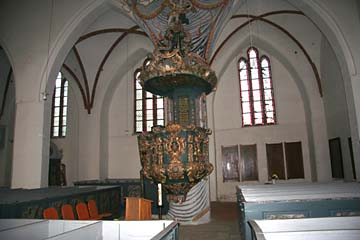 in der Jakobikirche in Gingst, Rügen