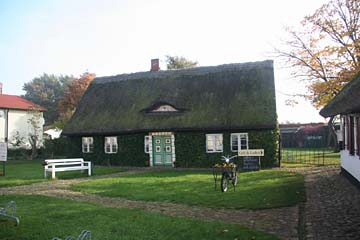 Efeuhaus in Gingst, Rügen