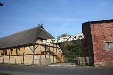 Pfarrscheuer in Waase, Insel Ummanz, Rügen