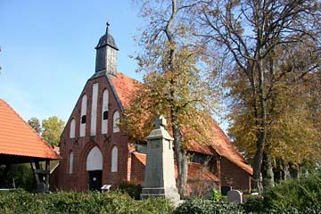 Kirche in Waase auf der Insel Ummanz, Rügen