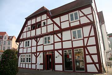 Benedixhaus v. 1538 in Bergen, Insel Rügen
