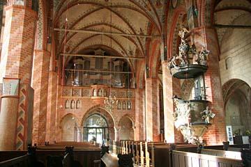 in der Marienkirche in Bergen, Insel Rügen