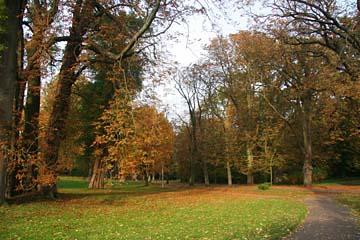 Spaziergang im Schloßpark von Putbus, Insel Rügen