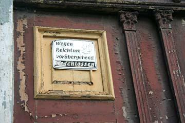 gesehen in Putbus, Insel Rügen