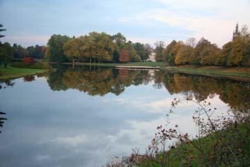 See beim Schloß in Wörlitz