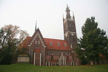 Kirche in Wörlitz