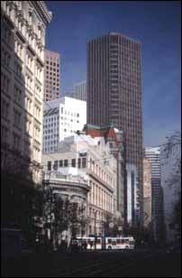 Hochhäuser in der Market St. San Francisco