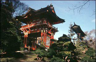 der Japanese Tea Garden im Golden Gate Park, San Francisco