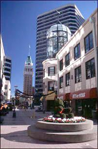 die Innenstadt von Oakland am 1.1.1999