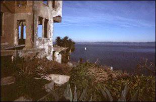 auf Alcatraz bei San Francisco