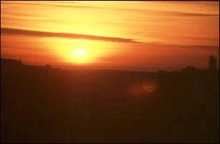 Sonnenuntergang in San Francisco