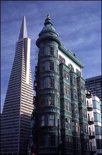 Transamerica Pyramide in San Francisco