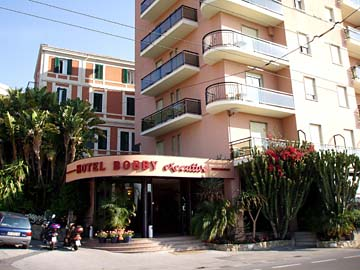 unser 3 Sterne Hotel in San Remo, Italien