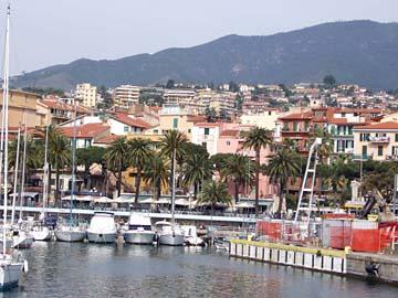 Hafen von San Remo, Ligurien