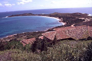 am Capo Coda Cavallo auf Sardinien