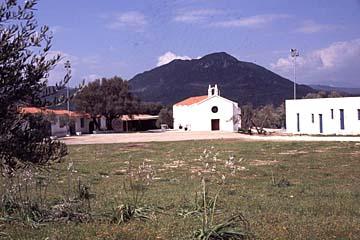 das Kloster Monseratto bei Oliena, Sardinien