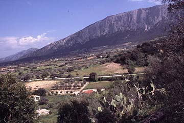 Landschaft im Kalksteinmassiv Sopramonte, Sardinien
