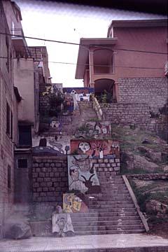 Murales in Orgosolo auf Sardinien