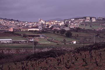 Landschaft bei Burcei auf Sardinien, Italien