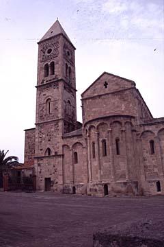 der Dom zu Oristano auf Sardinien, Italien