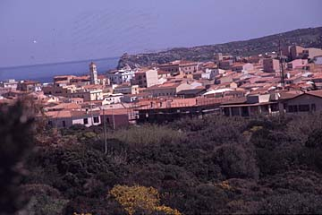 Santa Teresa Gallura auf Sardinien, Italien
