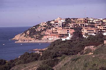 Porto Cervo am nördlichen Ende der Costa Smeralda auf Sardinien, Italien