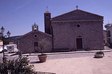 Dorfkirche bei Arzachena auf Sardinien, Italien