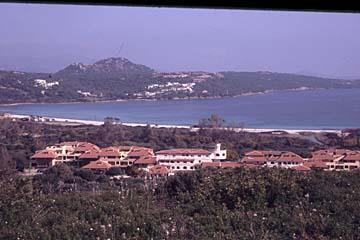 Landschaft bei Marinella auf Sardinien, Italien