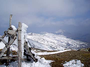 bei der Besteigung des Brunco Spina auf Sardinien